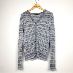 Zara Man | Knitted Button down Cardigan Sweater
